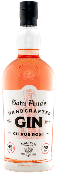 Saint Anne's Handcrafted Gin Citrus Rose
