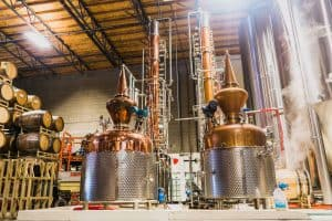 SanTan Spirit is an Arizona distillery that uses twin artisan pot stills used to create 21st Century Flavors
